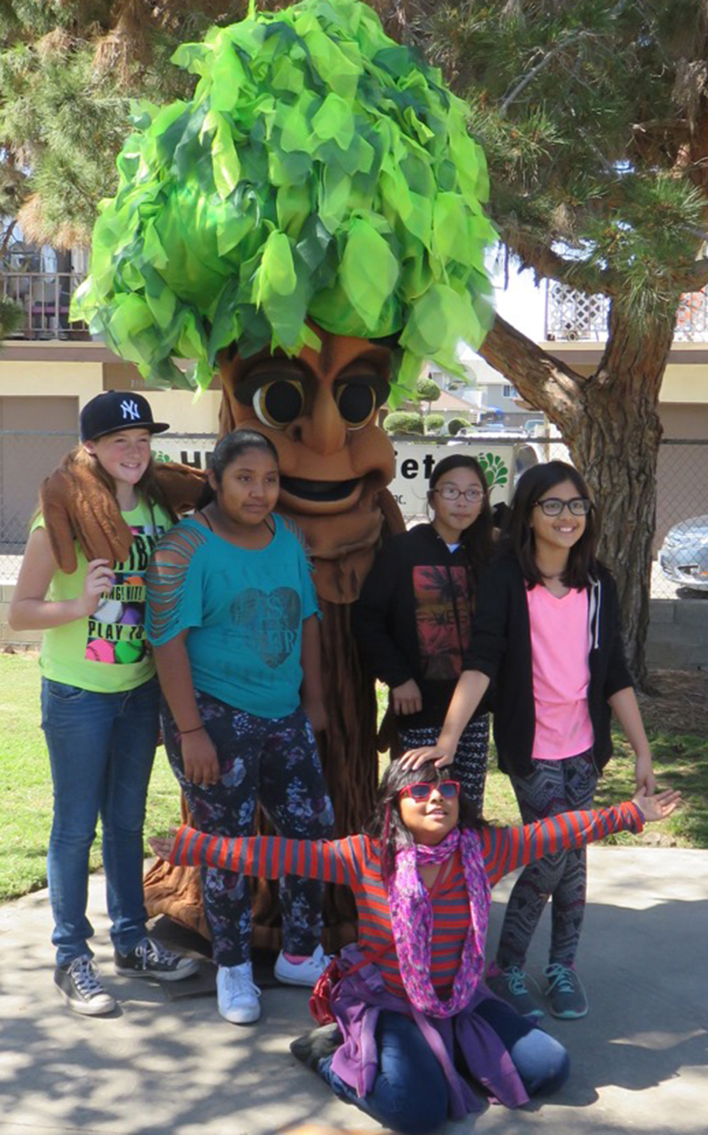 Students gain appreciation for our trees friends